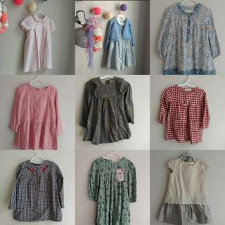 2t girls dresses zara and other brands