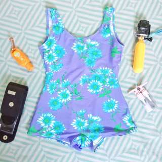 Vintage One-piece Swimsuit