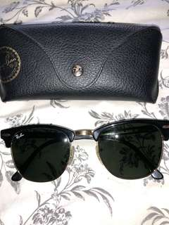 Ray Ban Clubmasters Sunglasses Black