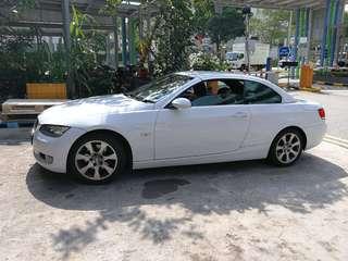 BMW e92 325 convertible