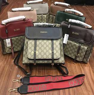 Gucci backpack (2waybag)
