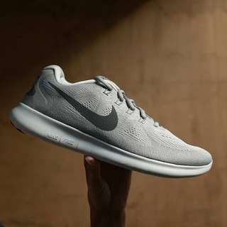 NIKE FREE RUN 2017 WOLF GREY ORIGINAL