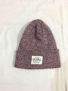 Coal beanie hat