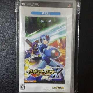 ((中古)) 日版 - PSP Rockman X Irregular Hunter (Capcom Megaman 卡普空 洛克人)