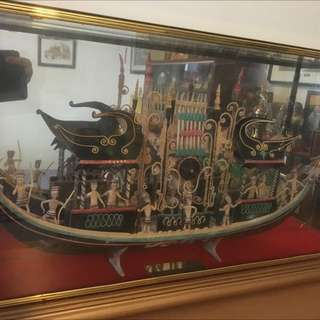 Ship Model From Indonesia