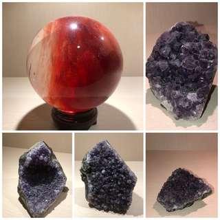 Amethyst Crystal 紫水晶山