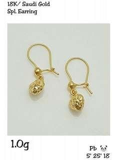 18k Ladies Earrings