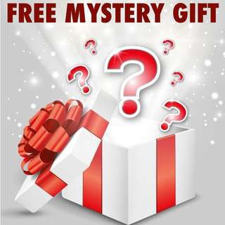🎁 Free mystery gift 🎁