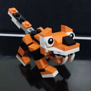 Lego Creator Tiger (NOT FOR SALE)