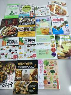 Assorted Cooking and Baking Books