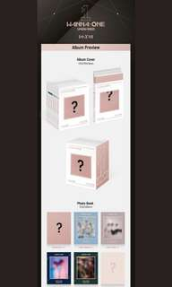 Upcoming Album only Wanna One Undivided