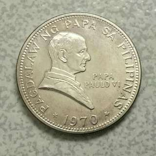 Pope Paul VI 1 Piso Commemorative Coin