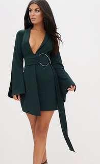Emerald ring dress
