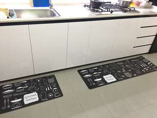 Kitchen mat, Waterproof and Anti-slip Mat