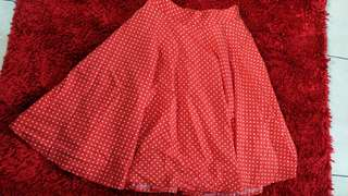 Minnie Red Skirt