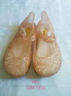 Minnie Melissa Inspired Scented Golden Shoes