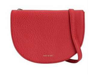 New Matt & Nat Crossbody - Coral