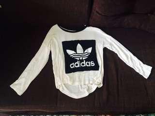 Adidas Sweat Shirt - Crop top
