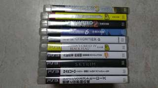 ps3 games..