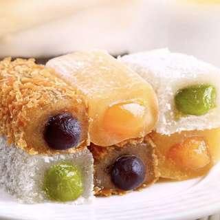 夾心麻薯210g 特產零食小吃爆漿麻糍早餐糕點