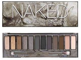 Naked smoky eye shadows