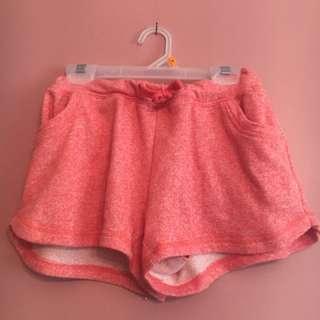 Athletic drawstring shorts