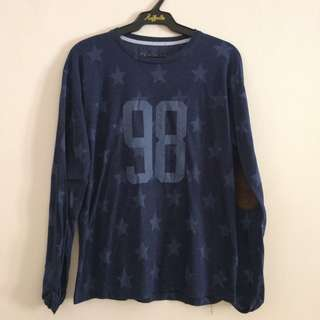 Kaos navy flashy