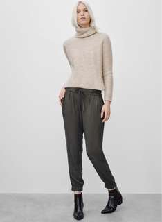 Wilfred pants XS NAVY BLUE