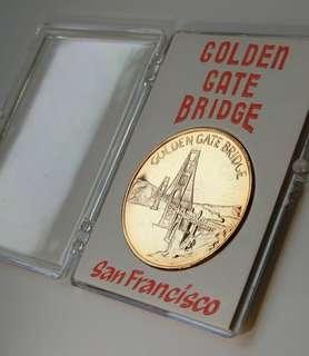 Golden Gate Bridge's coin