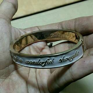 DISNEY COUTURE - 'Think Of A Wonderful Thought' Bangle