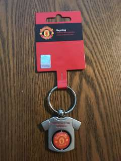 Official Manchester United Keychain
