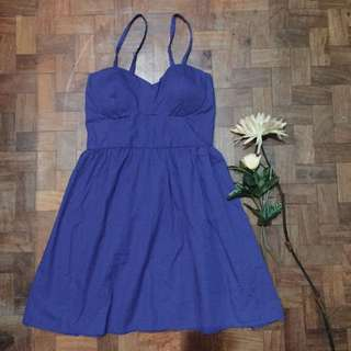 royal blue elegant dress