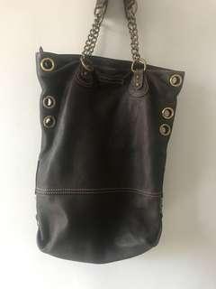 BCBG MAX AZRIA Leather Tote Bag