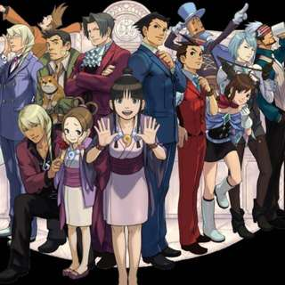 Ace Attorney Cosplay Group
