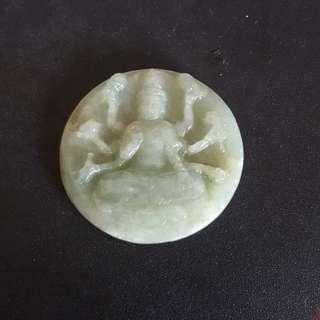 Guan Yin Thousand Hands Jadeite Grade A @ $68