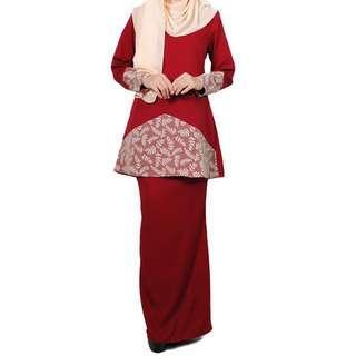 Baju Kurung Yasmin Lara Nour in XXL