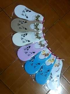 Korean Foot Socks 3 for P100