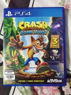 PS4 古惑狼 Crash Bandicoot N. Sane Trilogy