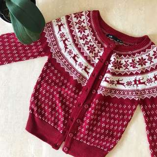 CHRISTMAS SWEATER CARDIGAN