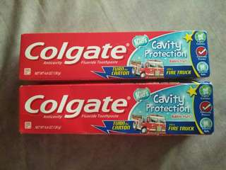 Colgate kids 100pesos each