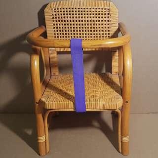 🔴藤製品_嬰兒機車坐椅
