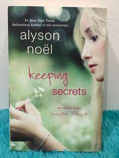 Keeping Secrets Alyson Noel