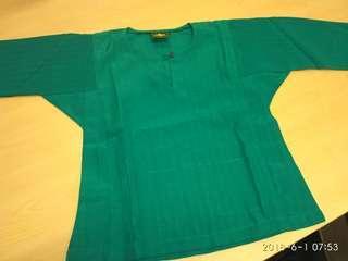 Baju Melayu Emerald Green