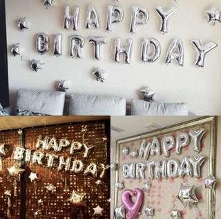 Birthday party Balloons / Birthday Ballon Set
