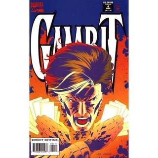 💯 Gambit Issue #4 Marvel Comics