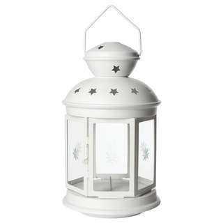 IKEA ROTERA lantern ((for candles))🕯🕯🕯—able to nego price !! not really used before!!