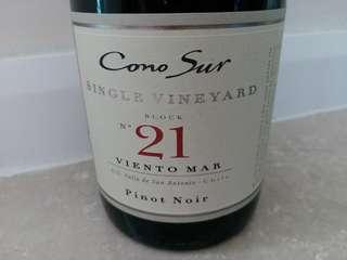全新智利紅酒Cono Sur No. 21
