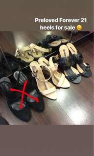 Preloved Forever 21 Heels