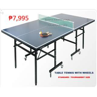 PINGPONG OR TABLE TENNIS WITH WHEELS