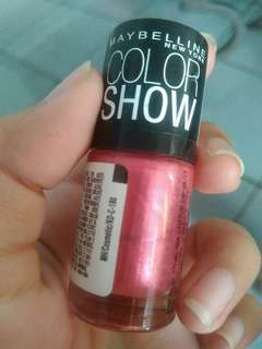 Maybelline Color Show Nail Polish (009 Chrome Pink)